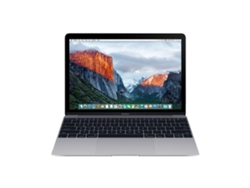 MacBook Pantalla Retina 12'' APPLE Gris Espacial 2018 (i5, RAM: 16 GB, Disco duro: 512 GB  SSD)