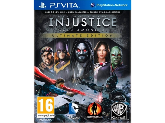 Juego PS Vita Injustice: Gods Among US (Ultimate Edition)