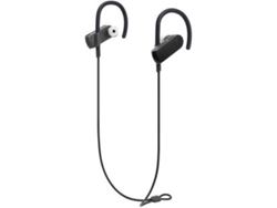 Auriculares Bluetooth AUDIO-TECHNICA ATH-SPORT50BT (In Ear - Micrófono - Negro)