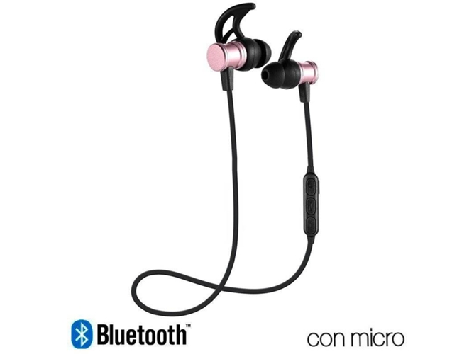 Auriculares Bluetooth COOL Magnetic (In Ear - Micrófono)