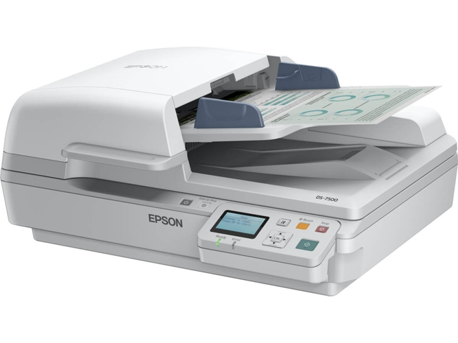 Scanner en red EPSON WorkForce DS-6500N — A4 | Velocidad escaneado: 50 ppm | Ethernet