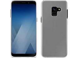 bdafaa0ba4d Carcasa y protector de pantalla MUVIT Crystal Samsung Galaxy A8 2018  Transparente