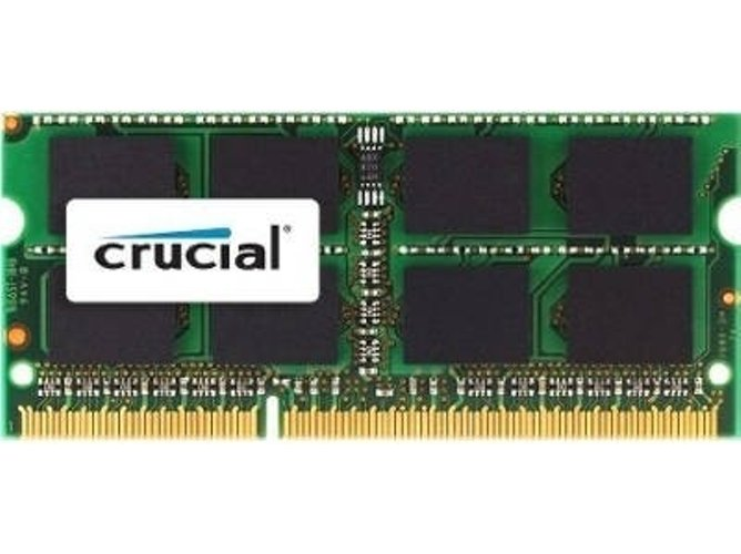 Memoria RAM DDR3 CRUCIAL CT8G3S1339M (1 x 8 GB - 1333 MHz - CL 9)