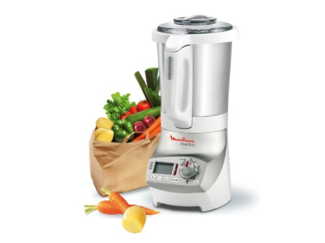 Robot de cocina moulinex soup co lm903121 worten - Recette moulinex soup and co ...