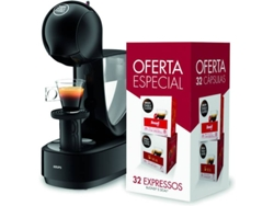 Cafetera DOLCEGUSTO Krups KP1708P9 Infiniss PR (15 bar - Negro) — Dolce Gusto | 15 bar