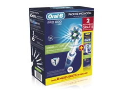 Cepillo Eléctrico ORAL B PRO600 Cross Action+Recambio