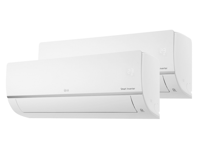 Aire acondicionado 2x1 inverter lg 2ml912c set worten for Aire acondicionado 2x1