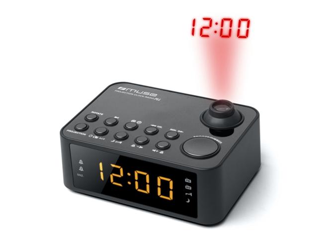 Radio despertador proyector muse m 178 p worten - Proyector worten ...