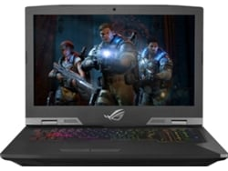 Portátil Gaming ASUS ROG G703GS-78D07CB2 (17.3'', Intel Core i7-8750H, RAM: 16 GB, 1 TB HDD + 256 GB SSD, NVIDIA GeForce GTX 1070)