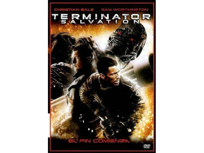 DVD Terminator Salvation: The Future Begins