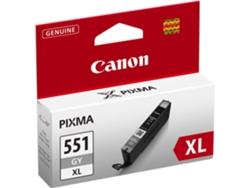 Cartucho de tinta Original CANON CLI-551 XL Alta Capacidad Gris para PIXMA  iP8750 5714eb2bcc02