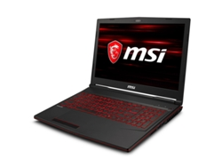 Portátil Gaming 15,6'' MSI GF63 8RC  ( i7-8750H, 16 GB RAM, 1 TB HDD + 256 GB SSD, nVidia GeForce GTX 1050)