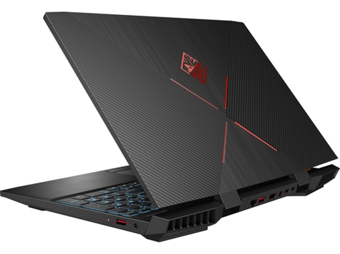 Portátil Gaming HP Omen15-DC0002NS (15.6'', Intel Core i5-8300H, RAM: 8 GB, 1 TB HDD + 128 GB SSD, NVIDIA GeForce GTX 1050) — Windows 10 Home | Full HD