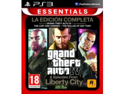 PS3 GTA IV: Complete Edition Essential