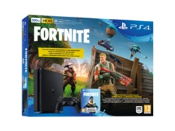 Consola PS4 Slim de 500 GB Negro + Voucher Fortnite