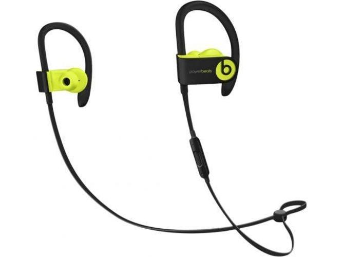 Auriculares Bluetooth BEATS Powerbeats 3 (in ear - micrófono - noise canceling - amarillo)