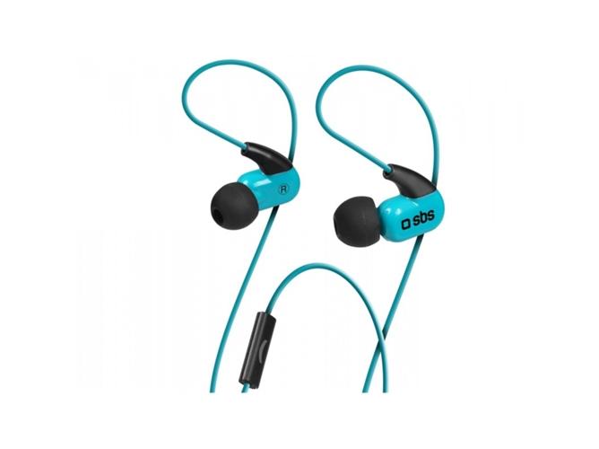 Auriculares In-Ear Runway Ghost SBS Azul
