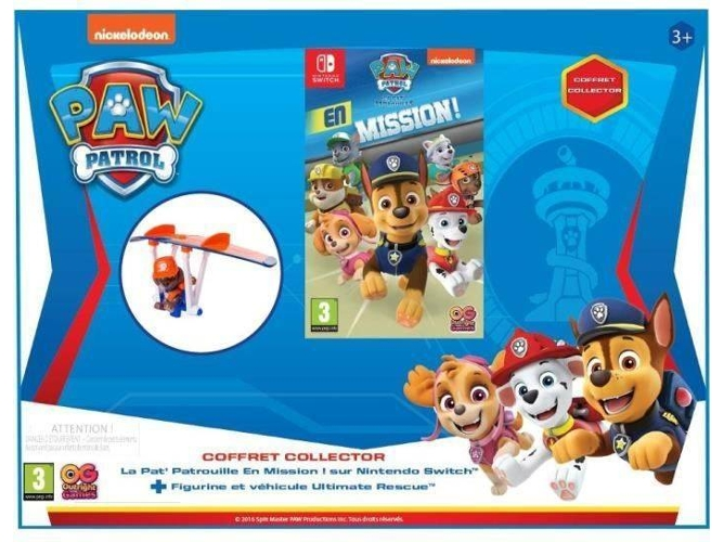 Nintendo Switch Paw Patrol: Todos a Una Funda para Nintendo Switch