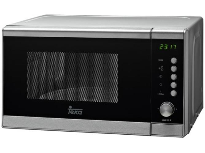 Microondas grill teka mwe 205 g acero inoxidable worten - Horno microondas pequeno ...
