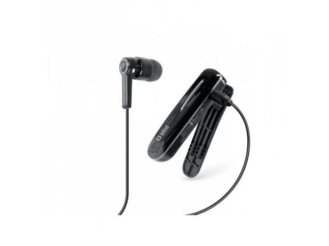 Auriculares Bluetooth 3.0 SBS Negro