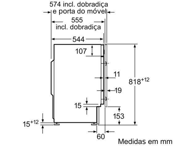 Lavadora Integrable BALAY 3TI978B (7 kg - 1200 rpm - Blanco)