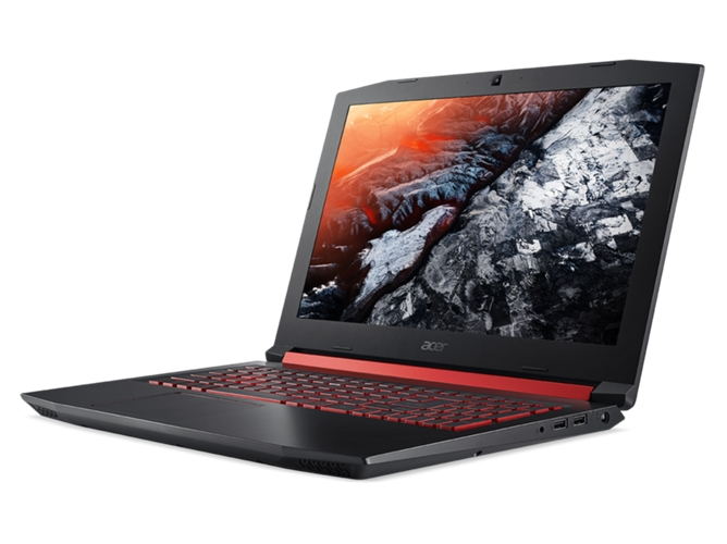 Portátil Gaming ACER Nitro 5 AN515-52-5336 (15.6'' - Intel Core i5-8300H - RAM: 8 GB - 128 GB SSD + 1 TB HDD - NVIDIA GeForce GTX 1050) — Boot-up Linux | FHD