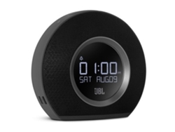 Radio Despertador JBL HORIZON (Negro - Digital - AM/FM - Corriente - Alarma Doble - Función Snooze)