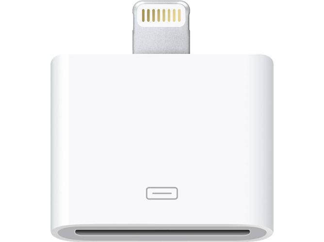ad53fb21f86 Adaptador Lightning - 30 Pin APPLE para iPhone 5 - WORTEN