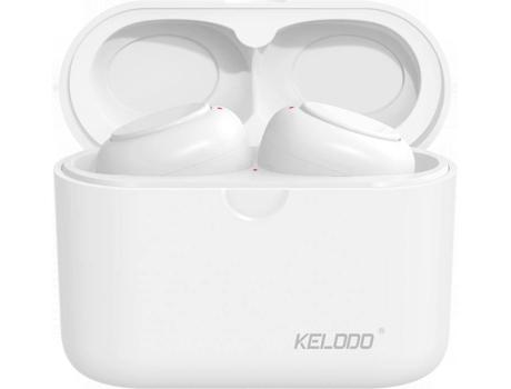Auriculares Bluetooth ROLLME KELODO S590 (In Ear - Micrófono - Blanco)