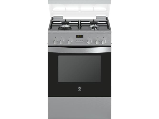 Cocina de gas 4 quemadores balay 3cgx466bq worten for Quemadores de cocina de gas butano