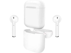 Auriculares Bluetooth True Wireless KLACK I9S TWS (Blanco)