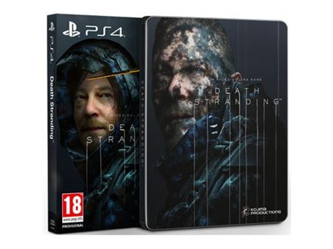 Juego PS4 Death Stranding (Special Edition - M18)