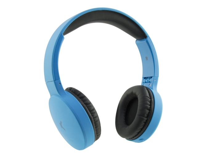 Auriculares Bluetooth KSIX Go&Play Travel (On ear - Micrófono - Azul) — On Ear | Micrófono | Responde llamadas