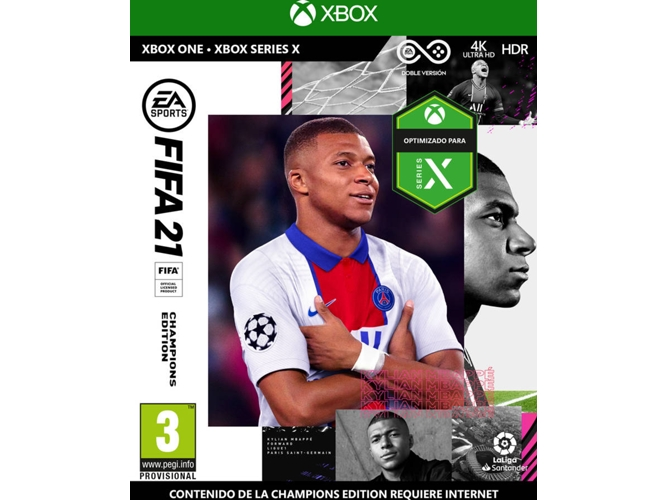 Juego Xbox One FIFA 21 (Champions Editions - M3)