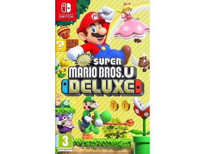 Juego Nintendo Switch Super Mario Bros U Deluxe Worten