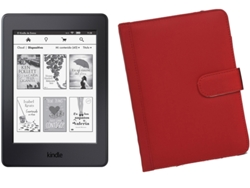 E-Book KINDLE Paperwhite 4 GB Wifi + Funda Roja