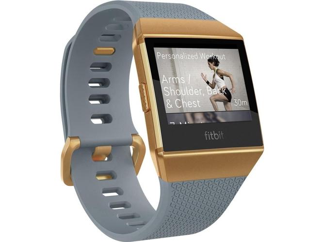 9c7ae7127a98 Reloj deportivo FITBIT Ionic Bronce (Bluetooth - 10 h de autonomía -  Pantalla táctil - Gris)