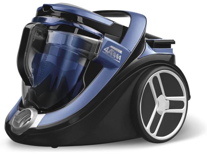 ergon/ómica deslizamiento /óptimo dep/ósito de suciedad de 2.5 l Rowenta Silence Force Cyclonic Animal Care Aspiradora sin bolsa con cabezal Power Air azul y negro