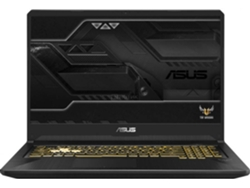 Portátil Gaming 17.3'' ASUS FX705GM-EV020 (i7, RAM: 16 GB, Disco duro: 1 TB HDD + 256 GB SSD)