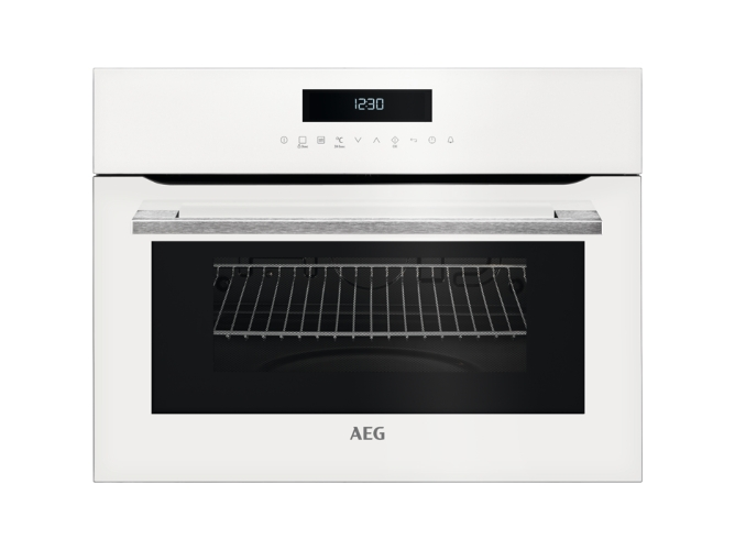 Horno AEG KMK721000W (46 L - 59.4 cm - Manual - Blanco)