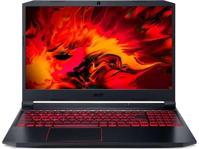 Portátil Gaming ACER Nitro 5 AN515-55-7665 (Intel Core i7-10750H - NVIDIA GeForce GTX 1650 - RAM: 16 GB - 512 GB SSD PCIe - 15.6'')