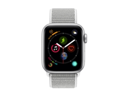 APPLE Watch S4 GPS (LTE) 40 mm Aluminio en Plata y Correa Loop Deportiva en color Nácar