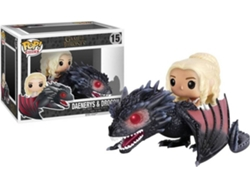 Figura Vinilo FUNKO POP! Game of Thrones: Drogon y Daenerys