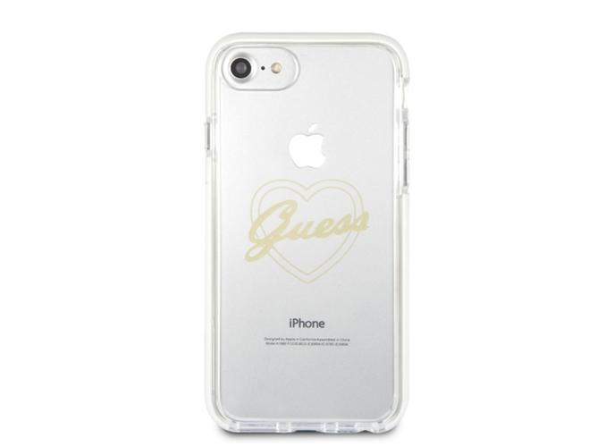 75cd0083c0b Carcasa iPhone 6, 6s, 7, 8 GUESS Shockproof Transparente