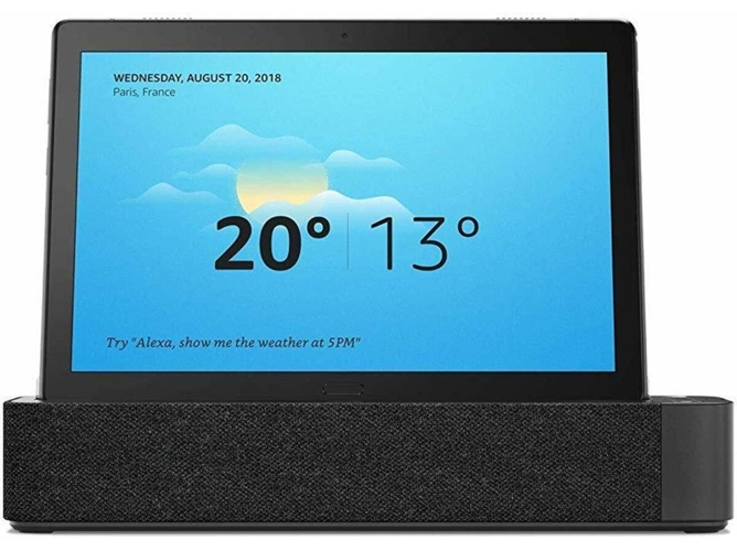 Tablet LENOVO Smart Tab M10 - ZA480123ES (10.1'' - 16 GB - AMAZON Alexa - Smart Dock) — Smart Dock | Full HD | 5 MP + 2 MP