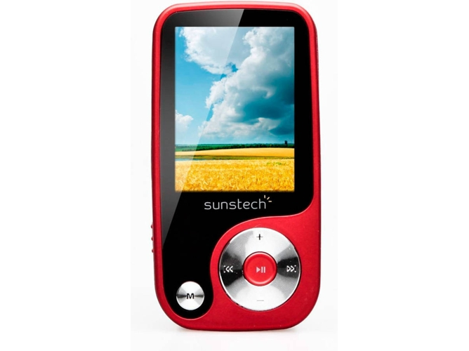 2b0060128 Reproductor MP4 SUNSTECH Thorn4GBRD Rojo - WORTEN