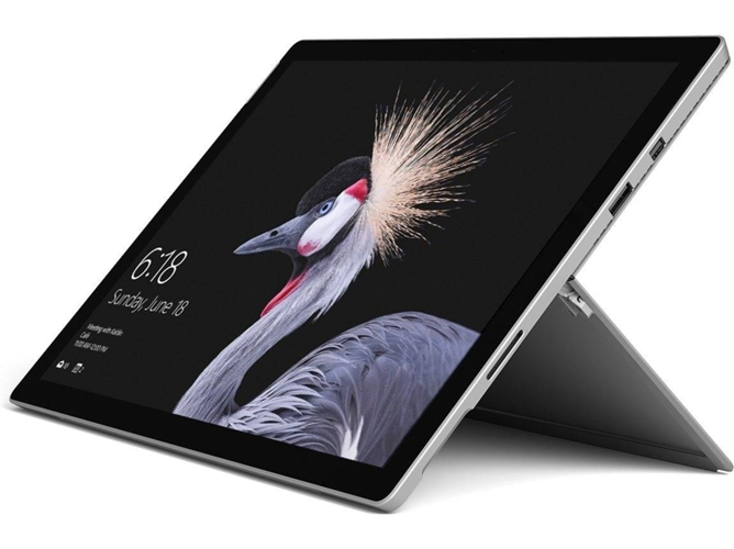 MICROSOFT Surface Pro - FJZ-00003 (12.3'' - Intel Core i7-7660U - RAM: 8 GB - 256 GB SSD - Intel Iris Plus 640) — Windows 10 Pro | QHD