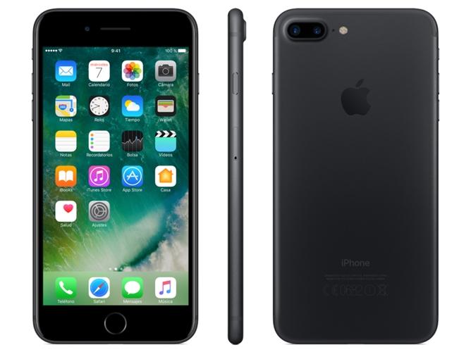 9af366bd850 iPhone 7 Plus APPLE (5.5'' - 3 GB - 256 GB - Negro) - WORTEN