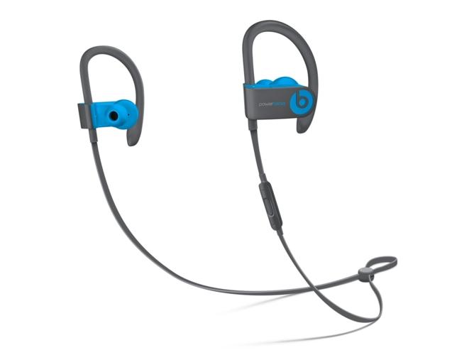 Auriculares Bluetooth BEATS Powerbeats 3 (In ear - Micrófono - Noise canceling - Atiende llamadas - Azul)