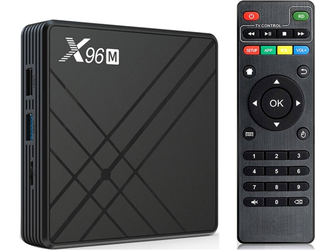 Box Smart TV WECHIP X96M (Android - 32 GB - RAM: 4 GB)
